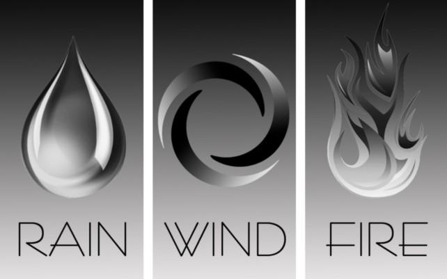 Rain, Wind, Fire