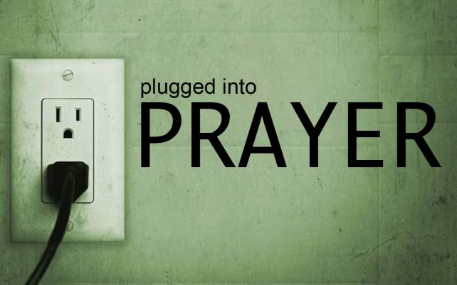 Plugged Into Prayer