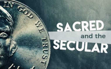 Sacred and the Secular