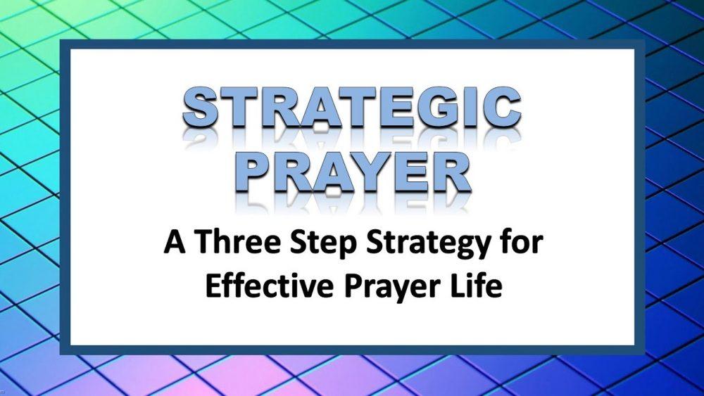 Strategic Prayer Image